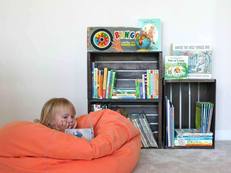 Mobili Portagiochi Per Bambini : Mobili fai da te per bambini: tante idee di bricolage [foto] pourfemme