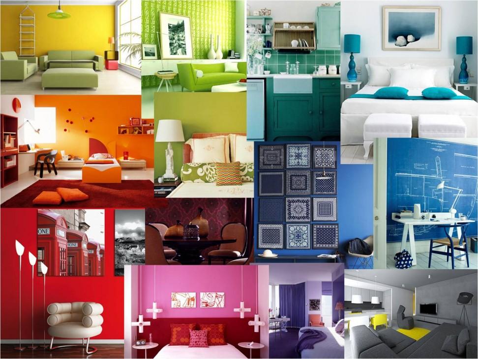 pareti colorate casa