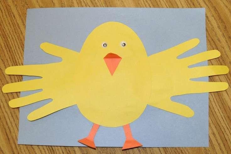 Pasqua: biglietti fai da te da realizzare con i bambini [FOTO]