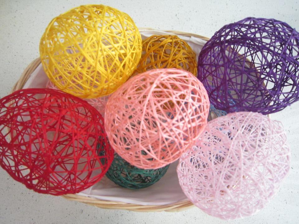 Come creare le uova di Pasqua con i palloncini