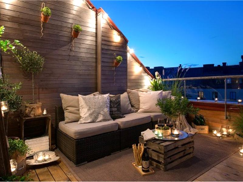 Quale arredamento per il terrazzo preferisci pourfemme for Arredamento da terrazzo