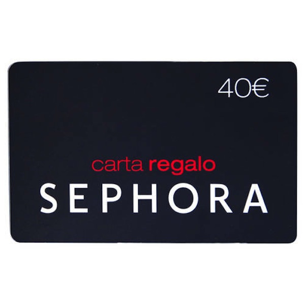 Carta regalo beauty da Sephora