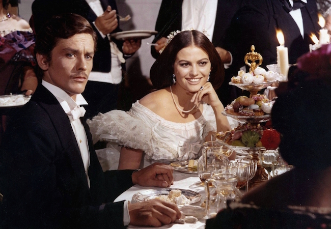 Alain Delon, Claudi Cardinale,Réalisateur : Luchino Visconti