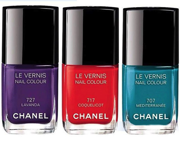 Smalti Chanel linea Mediterranee
