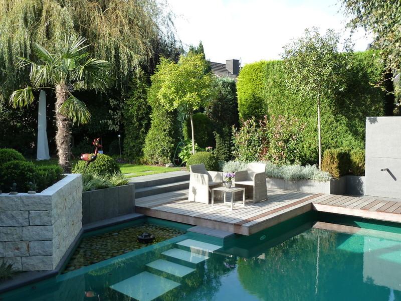 Piscine da giardino per trasformare lo spazio esterno in una vera oasi foto pourfemme - Biopiscina fai da te ...