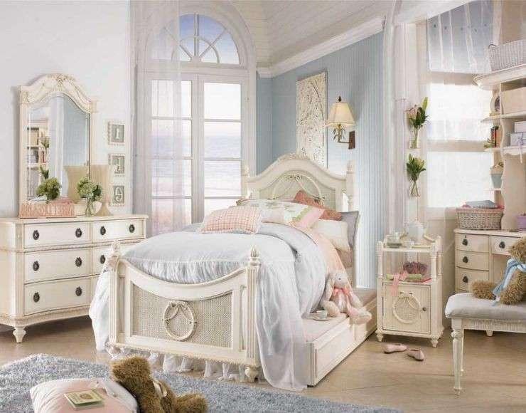 Camere Per Ragazzine : Camerette per ragazze shabby chic foto pourfemme