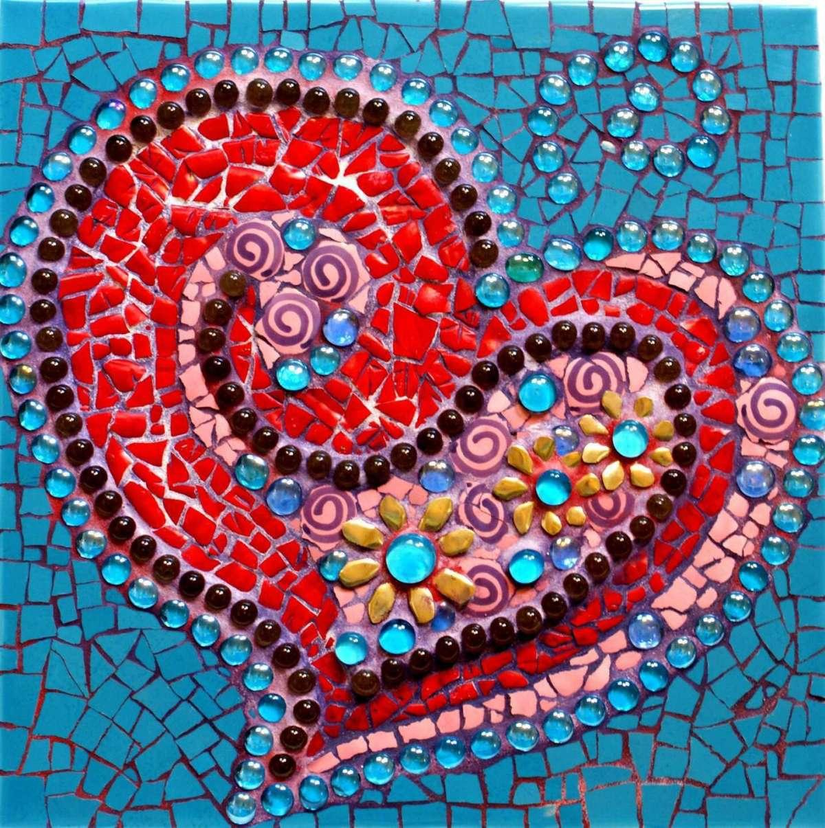 Come Costruire Un Mosaico lavoretti per bambini con il mosaico: tante idee fai da te