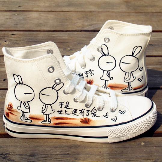 Sneakers dipinte