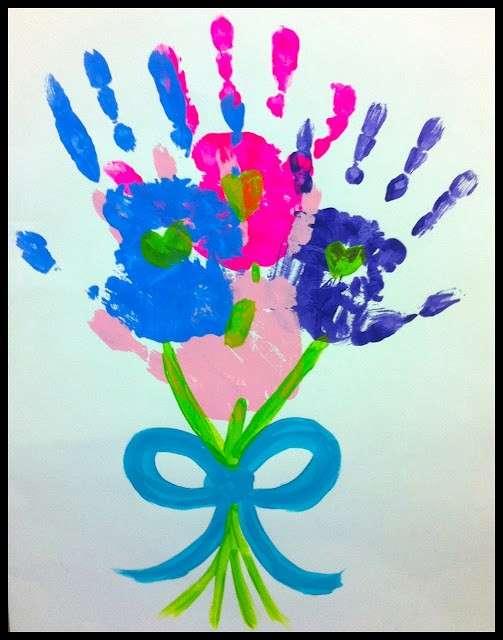 Festa della mamma: lavoretti per la scuola dell'infanzia [FOTO]