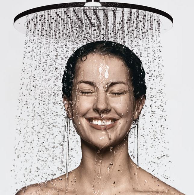 doccia dopo palestra