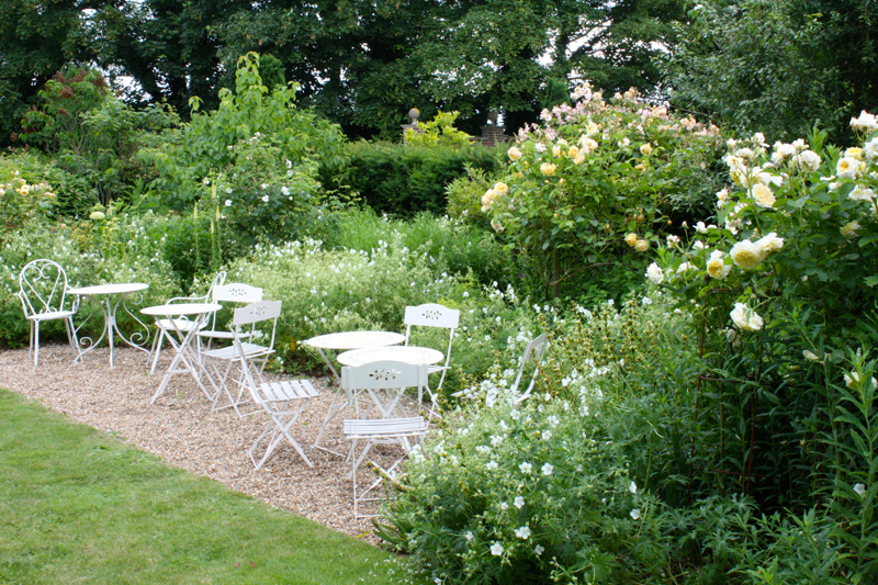 Fiori per il giardino romantico