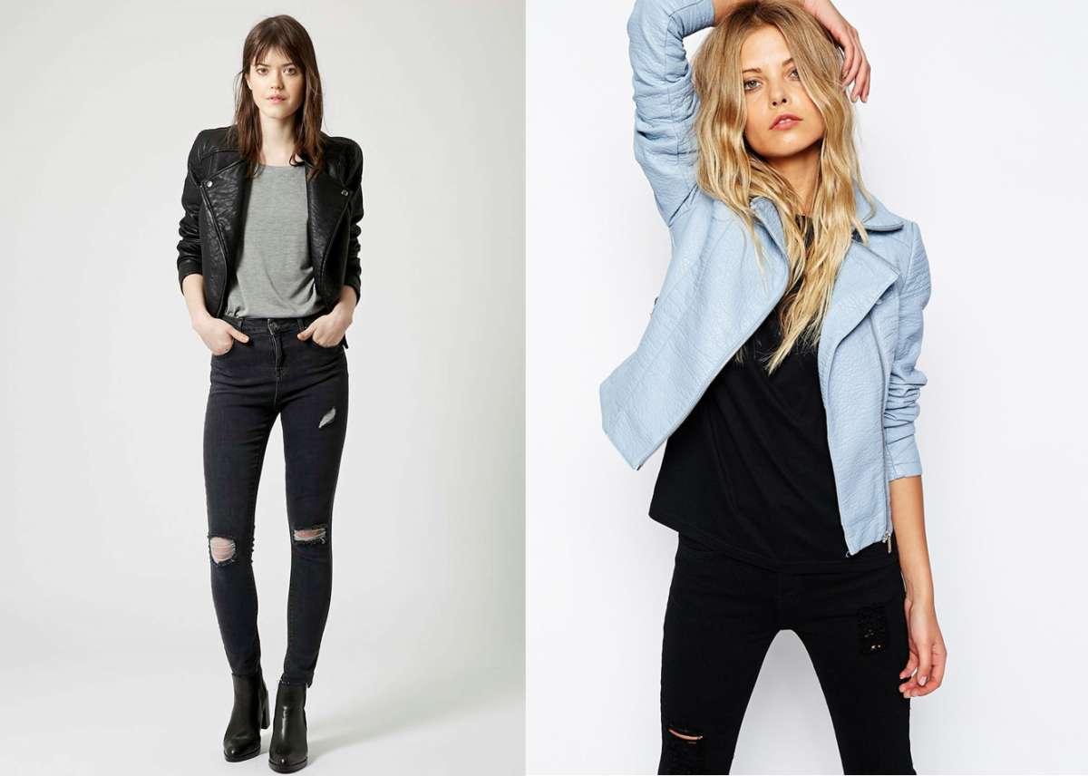 Giacche in ecopelle PrimaveraEstate 2015: da Zara a Topshop