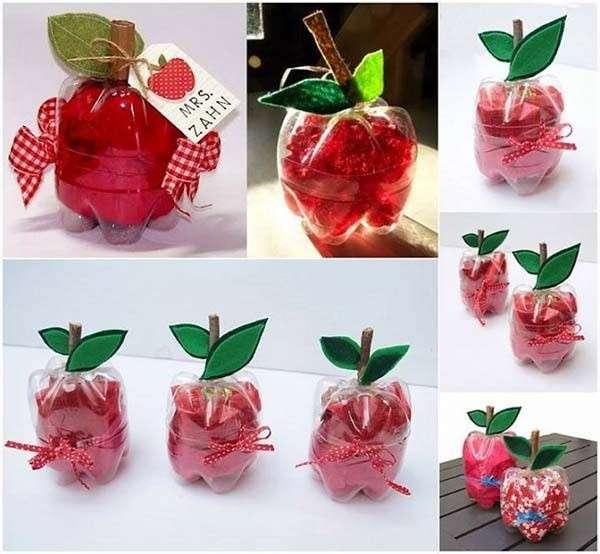 Bricolage Con Bottiglie Di Plastica.Lavoretti Per Bambini Con Bottiglie Di Plastica Foto Pourfemme