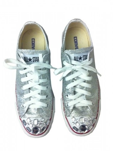 Luce sulle sneakers