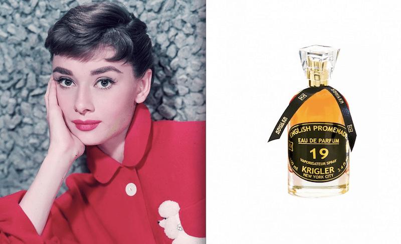 Audrey Hepburn e English promenade di Krigler