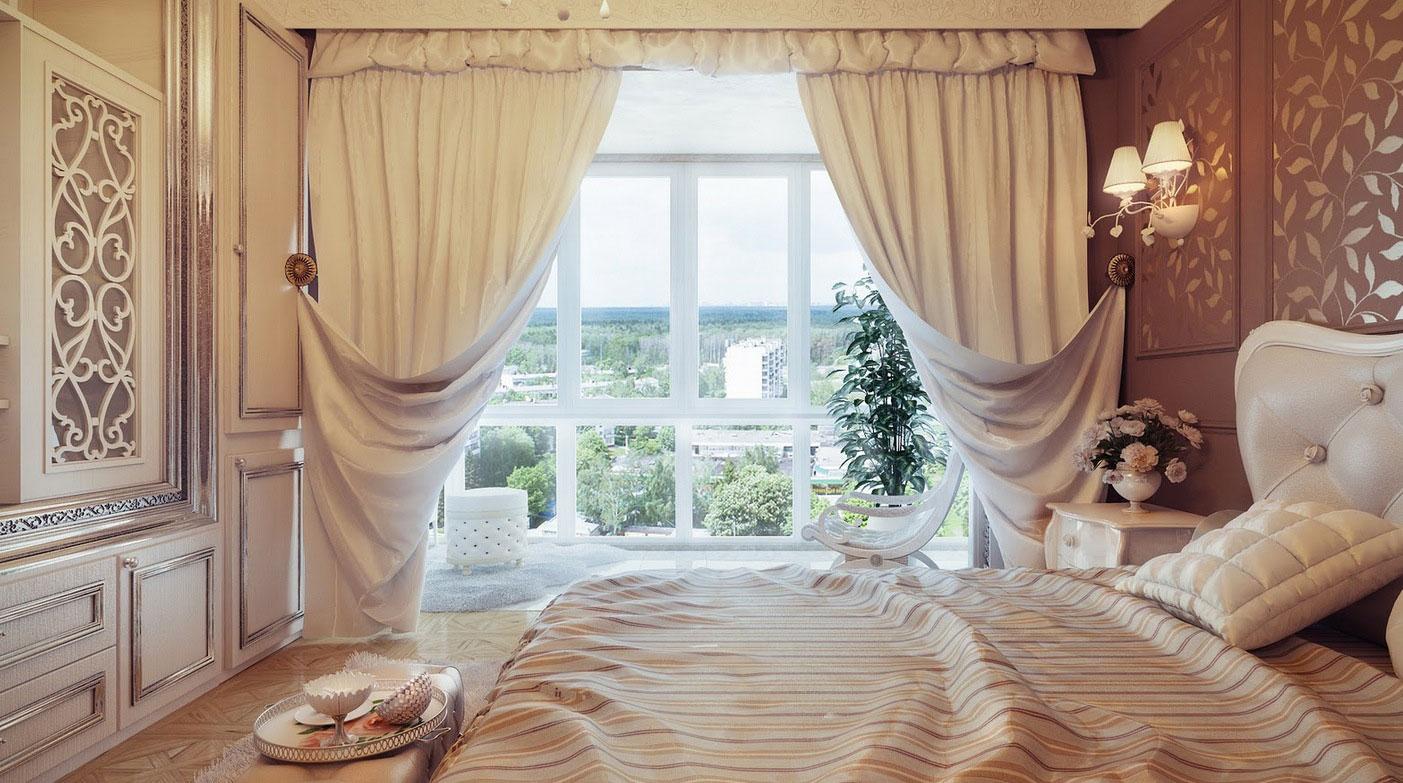 Tendaggi per interni idee e consigli per scegliere le for Tende casa classica