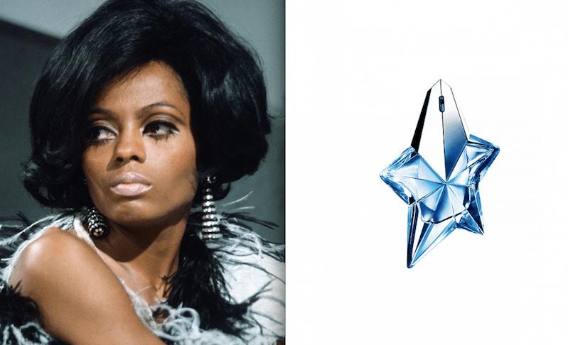 Diana Ross e Angel di Thierry Mugler