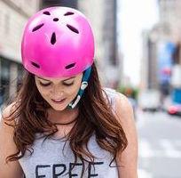 Donna ciclista