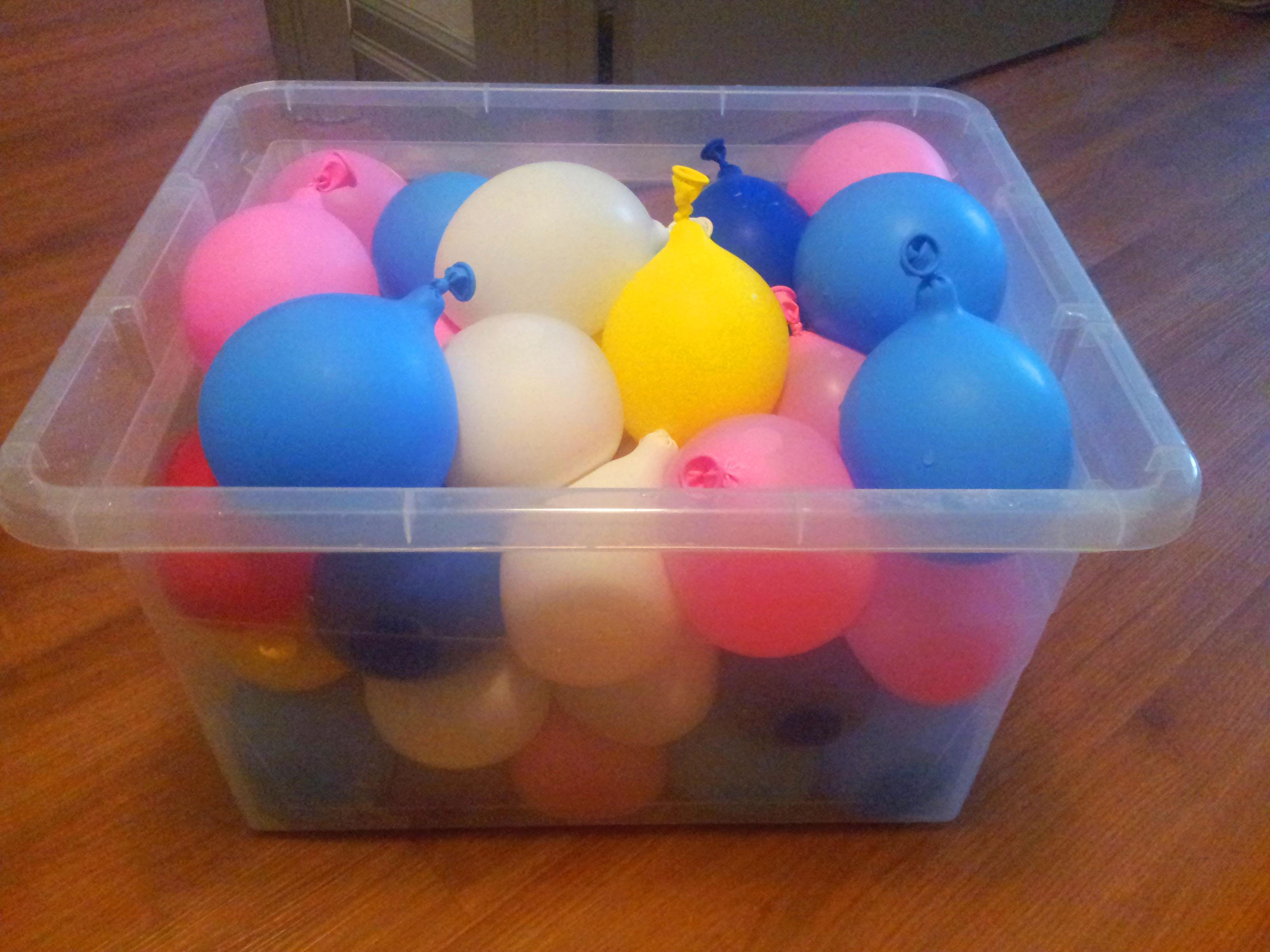 Palloncini di acqua