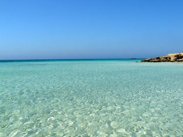 Spiaggia di Elafonissi Grecia