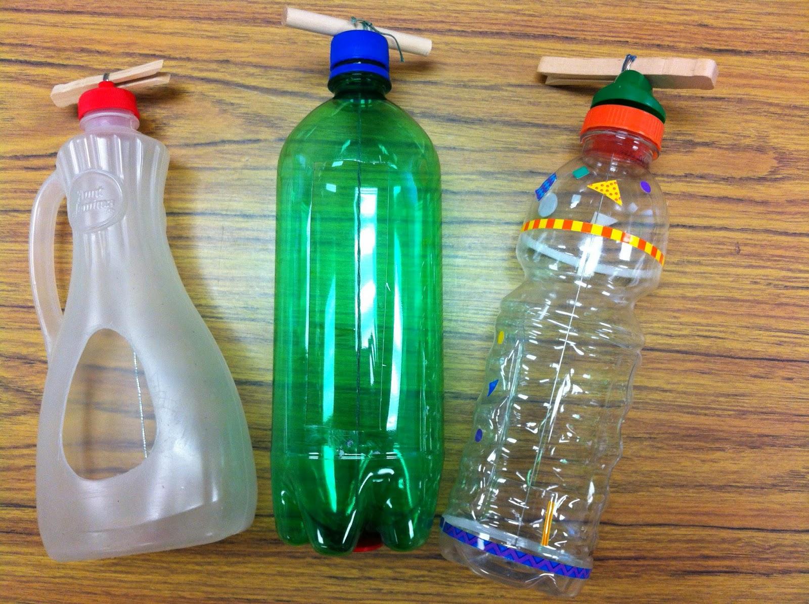 Bricolage Con Bottiglie Di Plastica.Strumenti Musicali Fai Da Te Per Bambini Foto Pourfemme