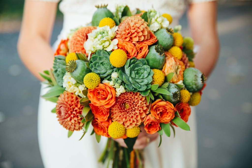 Decorazioni Matrimonio Arancione : Matrimonio in arancione idee per fiori e decorazioni foto
