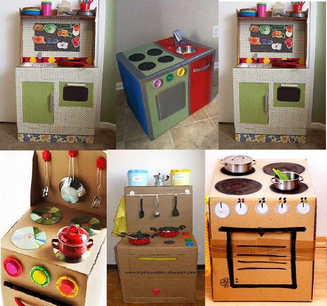 Giochi per bambini con materiale riciclato [FOTO]