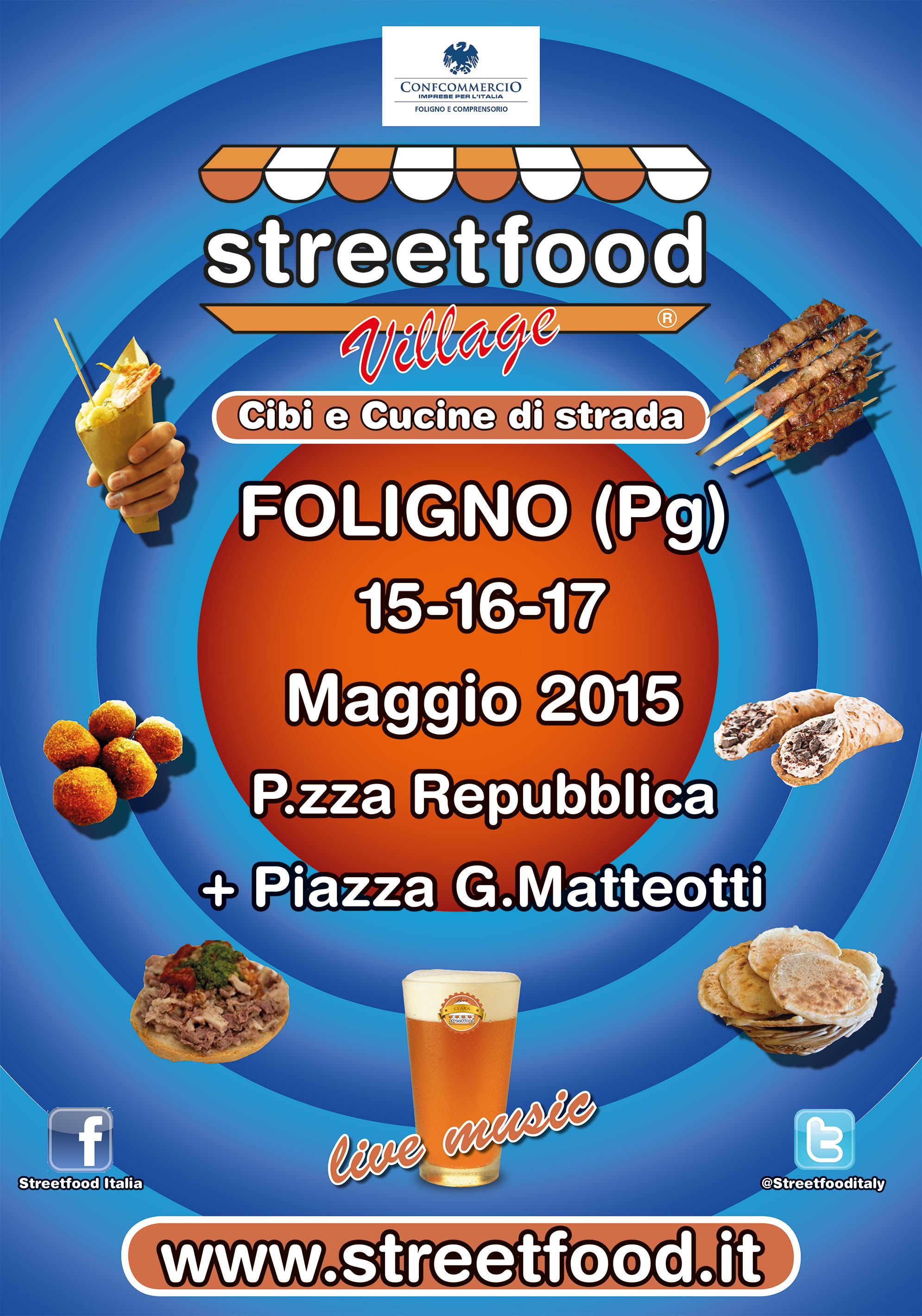 Streetfood Italia a Foligno