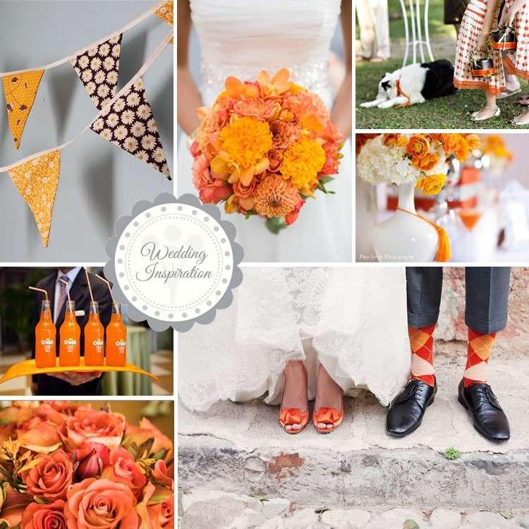 Matrimonio in arancione: idee per fiori e decorazioni [FOTO]