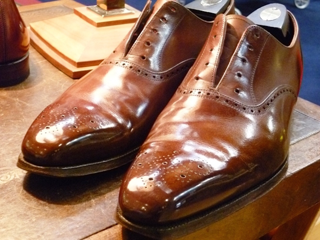 pulire scarpe calzini