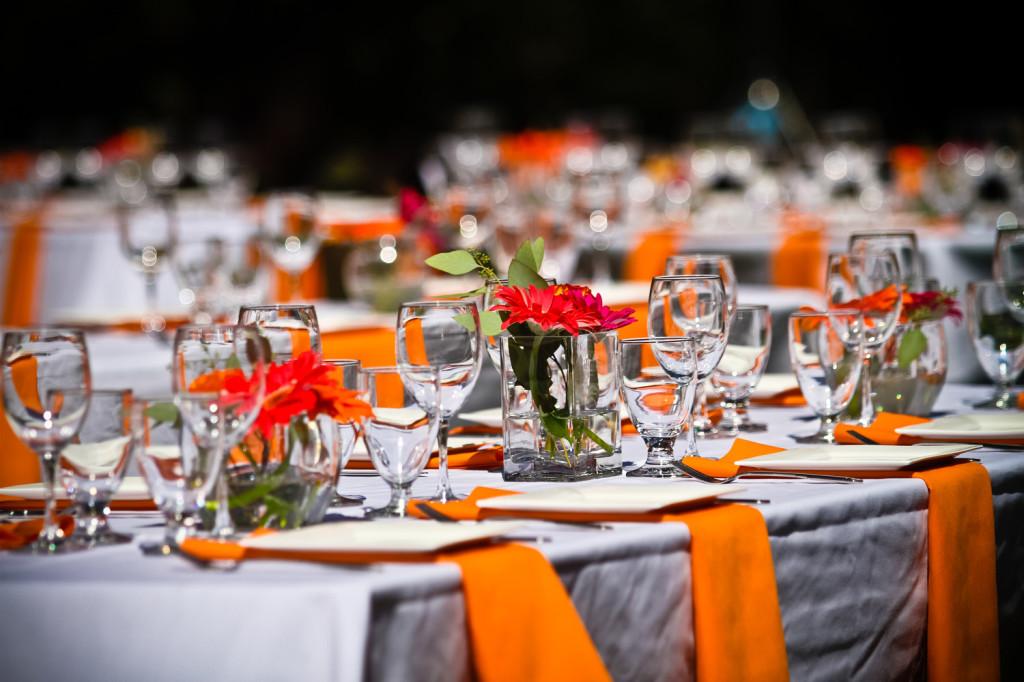 Decorazioni Matrimonio Arancione : Matrimonio in arancione: idee per fiori e decorazioni [foto] pourfemme