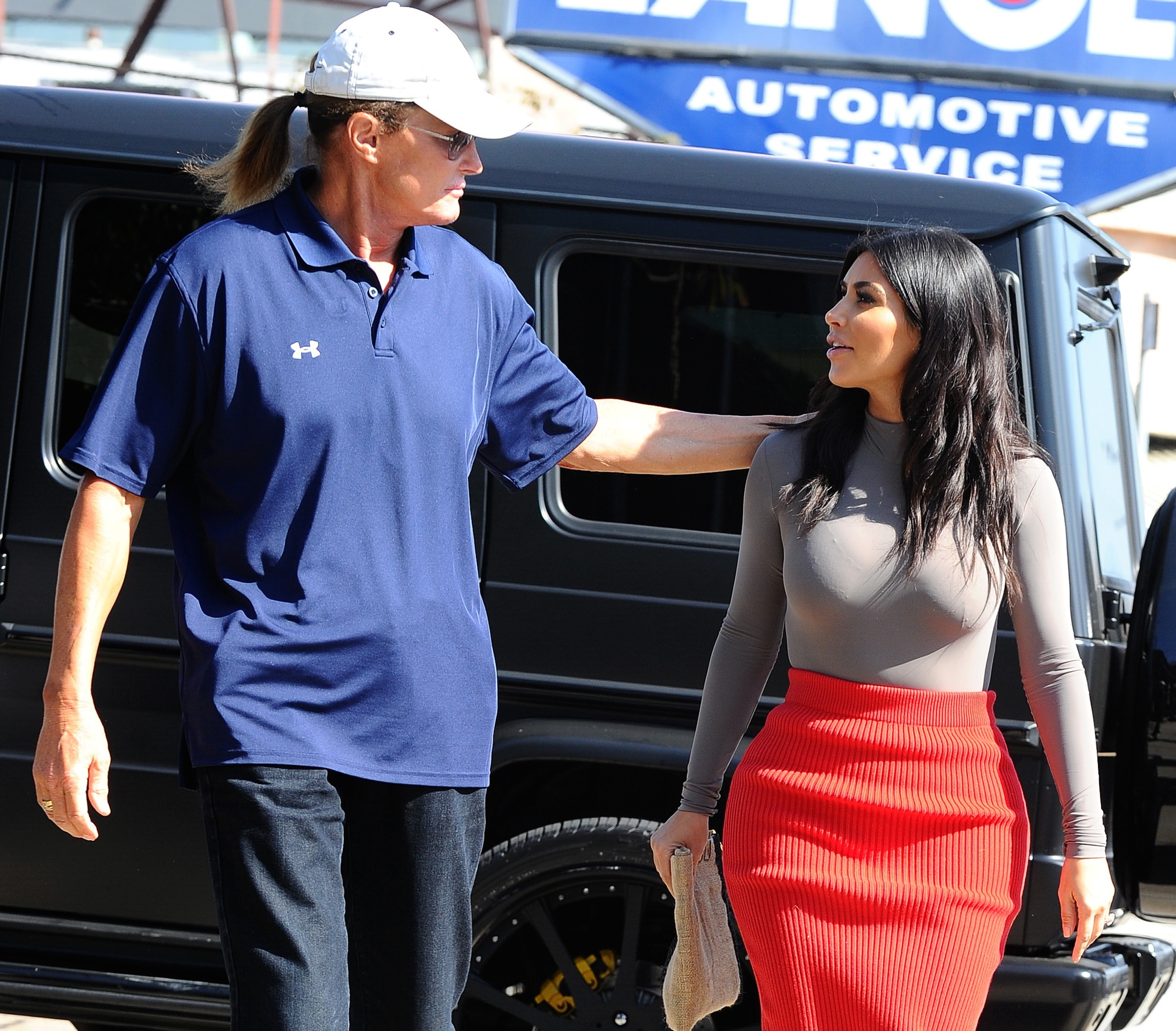 Bruce Jenner donna patrigno Kim Kardashian