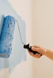 Dipingere parete casa