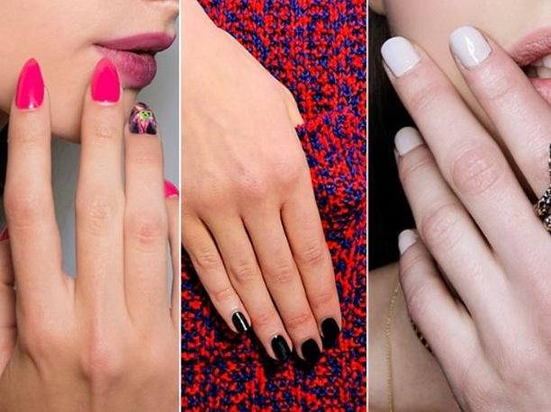 La forma delle unghie