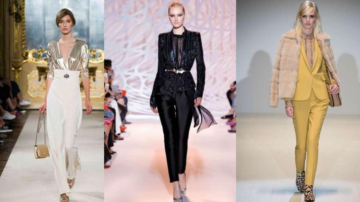 Abiti da cerimonia 2015 con pantalone: da Gucci a Max Mara, i più chic [FOTO]