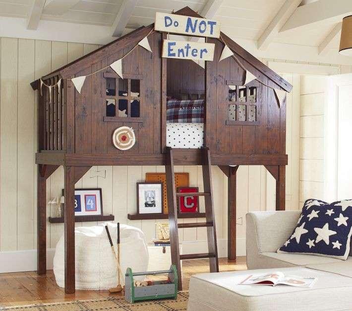 Letti A Castello In Ferro Ikea.Letti A Castello Per Bambini I Piu Belli Foto Pourfemme