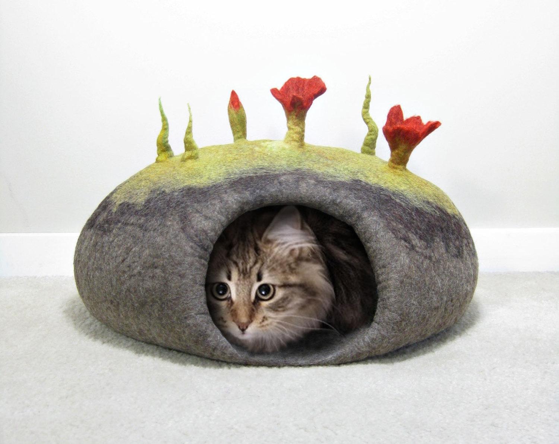 cuccia gatto mimetica