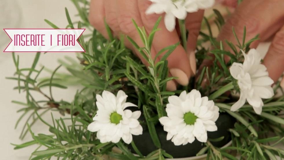 inserisci i fiori