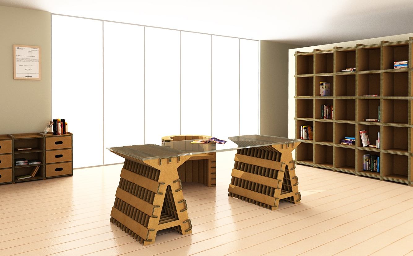 Arredamento mobili fai da te ecologici foto pourfemme - Mobili in cartone design ...