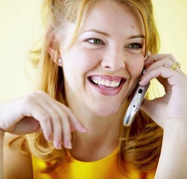 parlare al cellulare