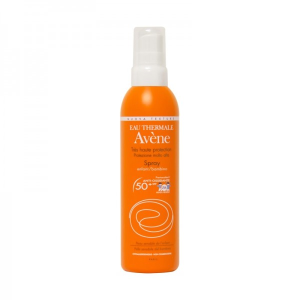 spray avene protezione solare pelle sensibile bambino spf 50