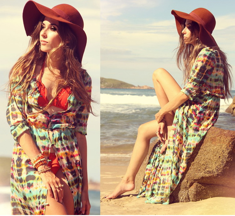 swimsuit cover ups women cover up women beachwear Brilliant font b Caftan b font Dress font