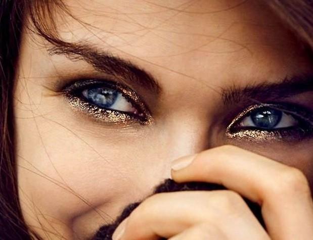 trucco occhi shimmer