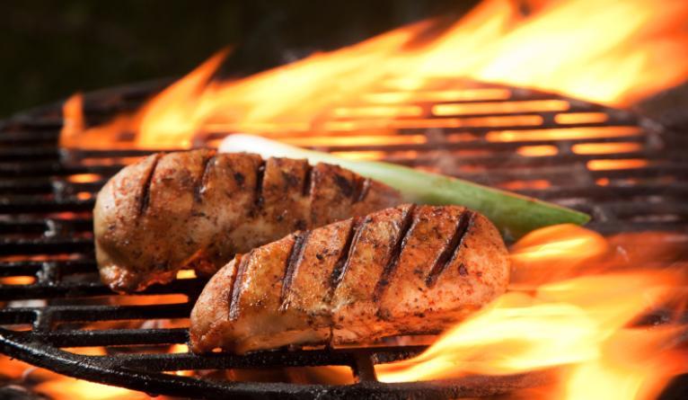 Cottura della carne alla brace