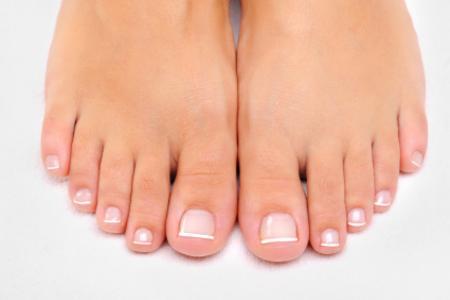 Cura unghie piedi
