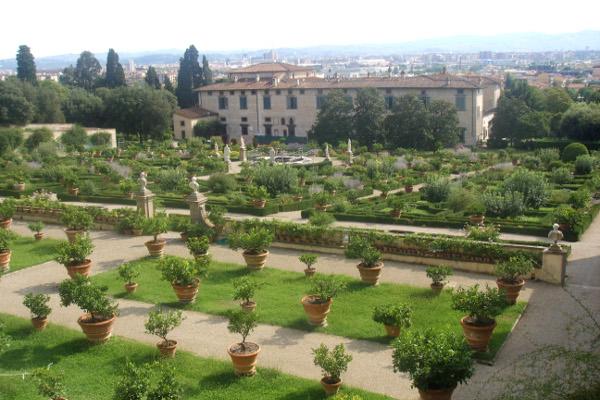 Giardini della Villa Medicea di Castello