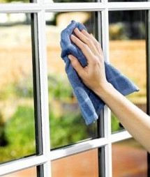 Polvere vetri finestre