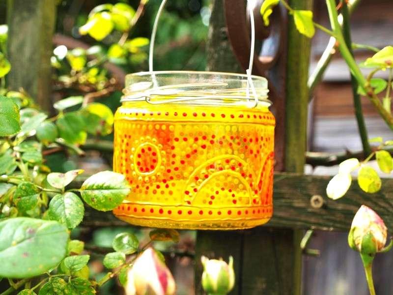 Come decorare un barattolo di vetro [FOTO]