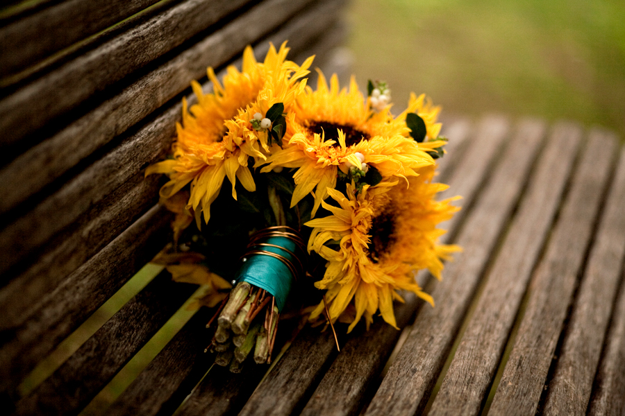 bouquet girasoli autunnale