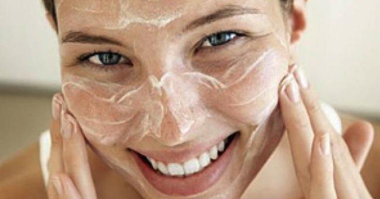 scrub viso delicato